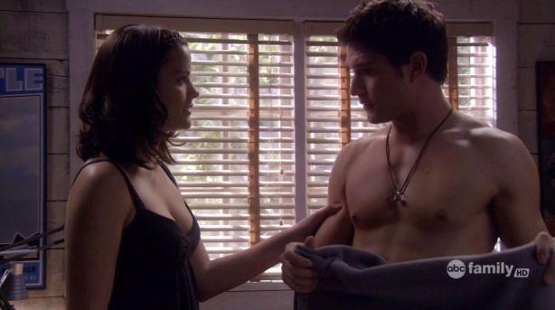 Matt Dallas shirtless