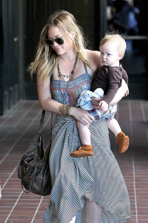 Hilary Duff son Luca