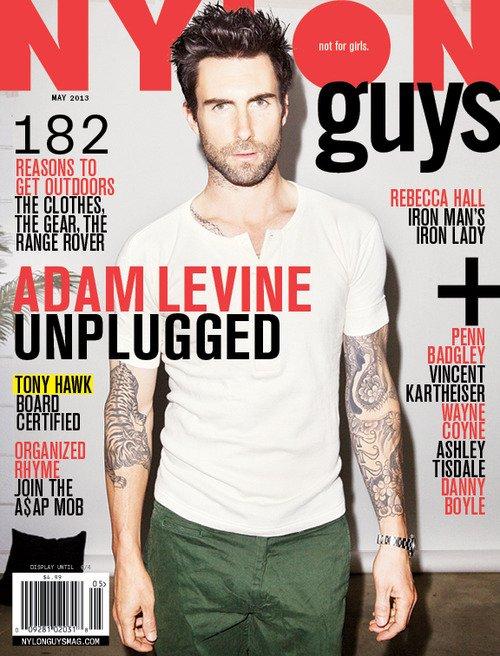 Adam Levine 2013