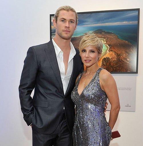 Chris Hemsworth and his wife Elsa Pataky hit the Inaugural ...